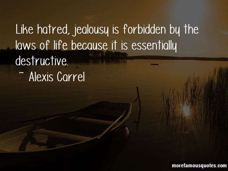 crucible jealousy can destroy lives How can the answer be improved.