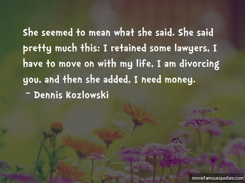 Divorcing You Quotes