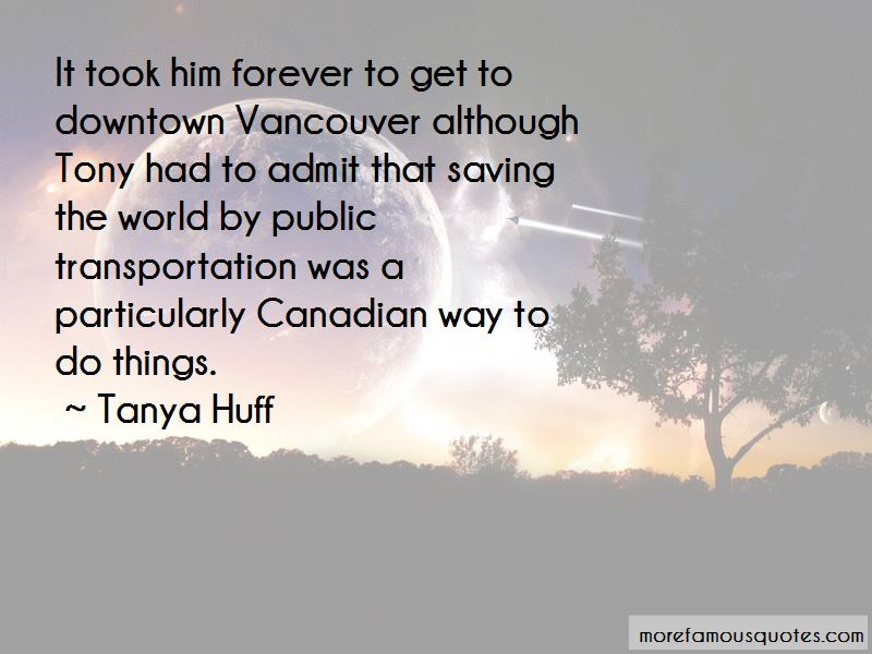 Downtown Vancouver Quotes