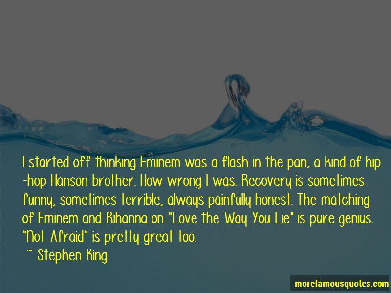 Eminem Im Not Afraid Quotes