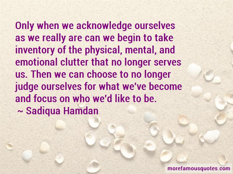 Emotional Clutter Quotes