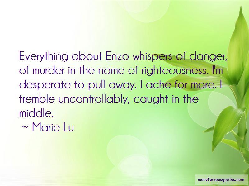 Enzo Quotes