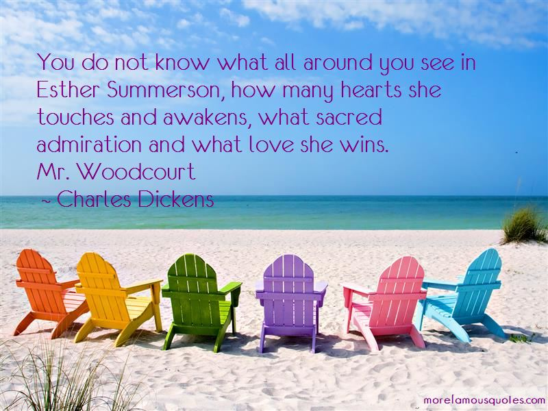 Esther Summerson Quotes