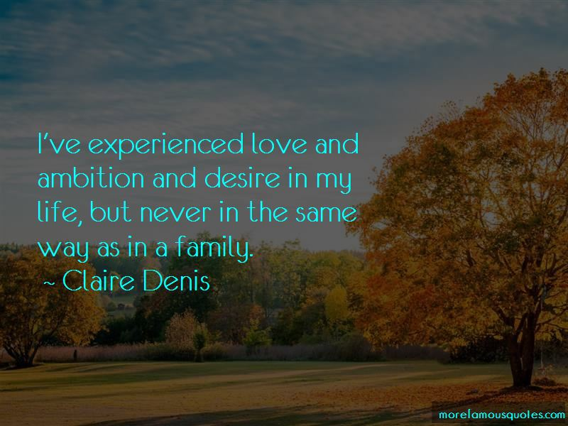 Experienced Love Quotes