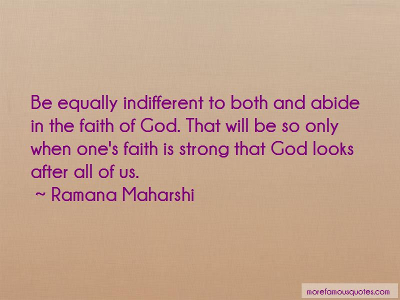 Faith Is Strong Quotes