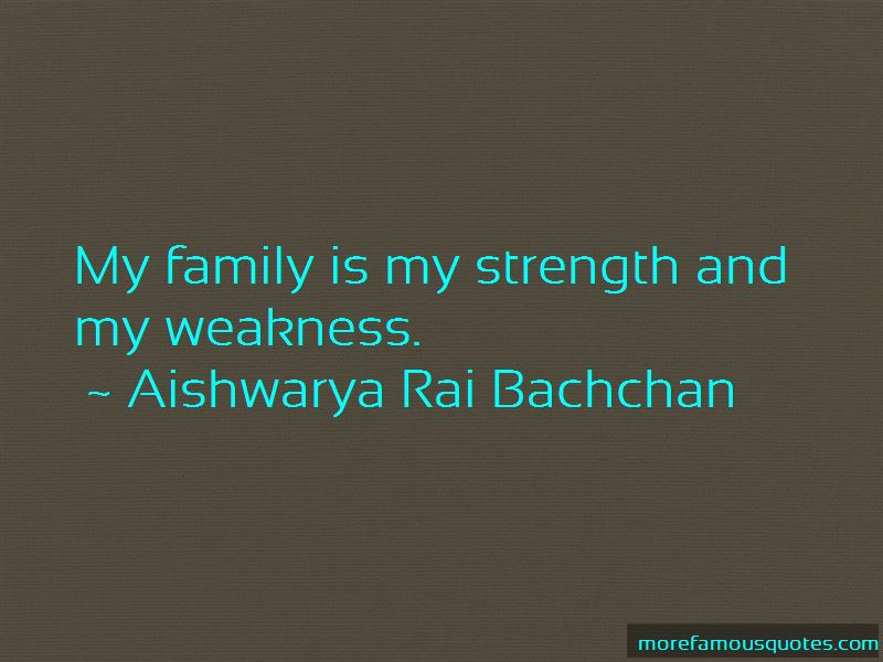 Family Is My Strength Quotes