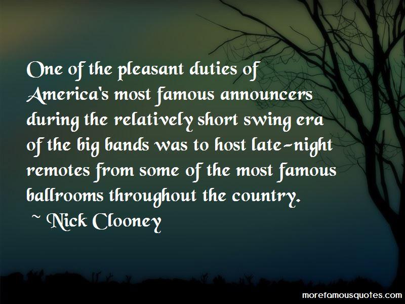 Famous Announcers Quotes