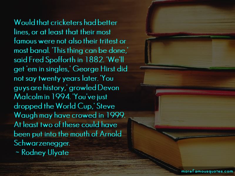 Famous World Cup Quotes