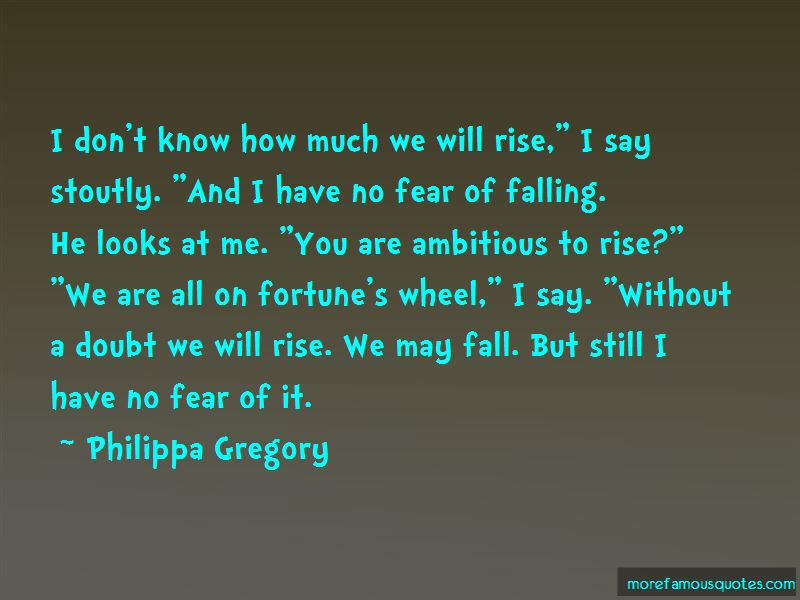 Fear Of Falling Quotes