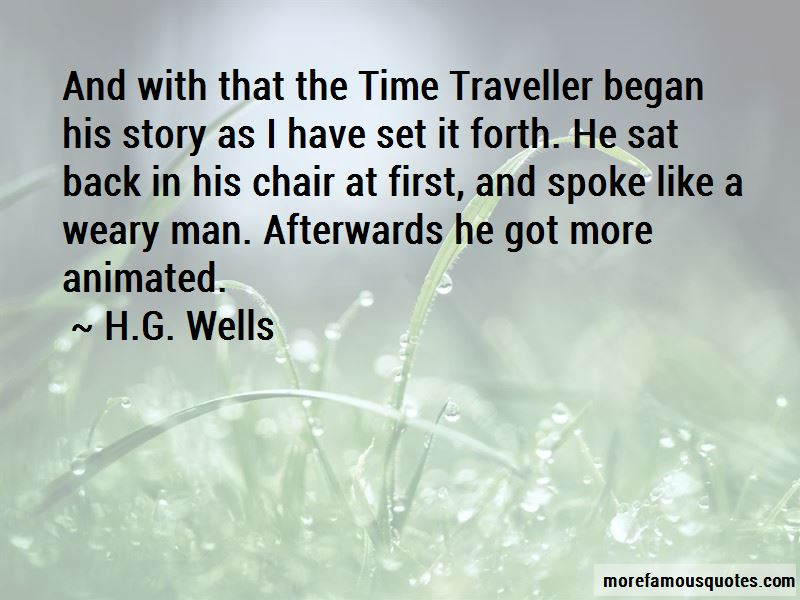 First Time Traveller Quotes Pictures 2