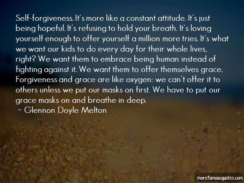 Forgiveness And Grace Quotes