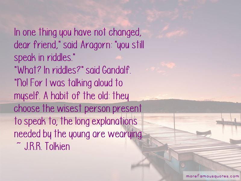 Gandalf Aragorn Quotes Pictures 3
