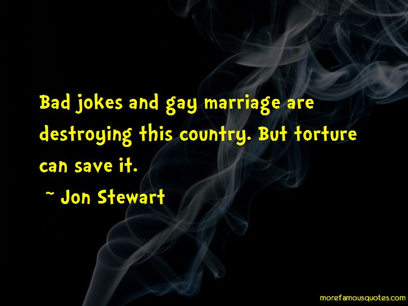 Gay Marriage Jokes Quotes