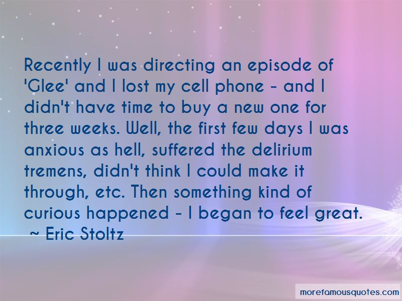Glee The First Time Quotes