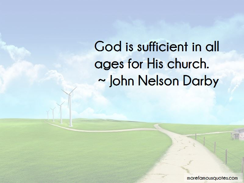 God Is Sufficient Quotes