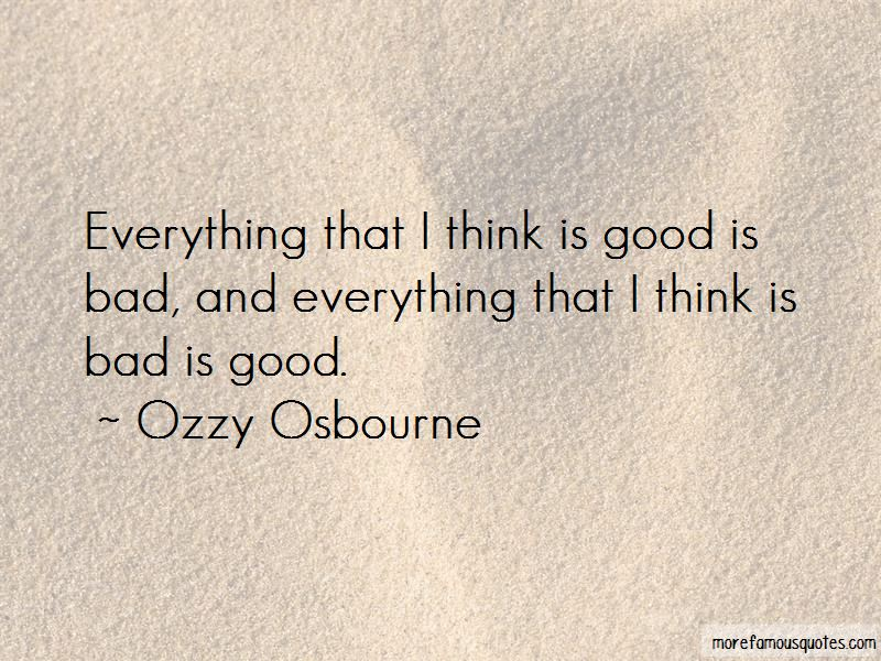 Good Is Bad Quotes