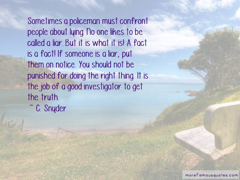 Good Policeman Quotes Pictures 4