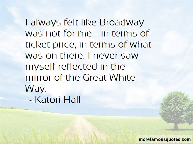 Great White Way Quotes