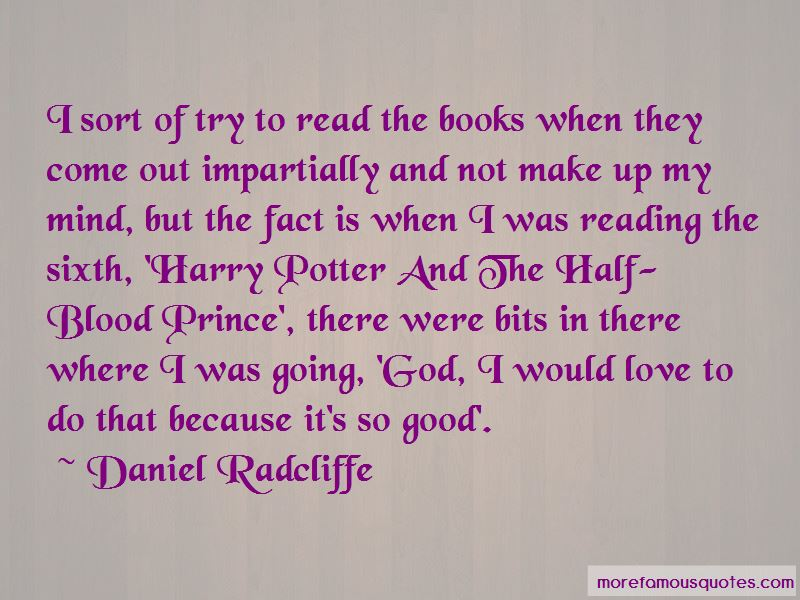 Harry Potter And The Half Blood Prince Love Quotes Top 1