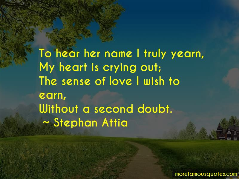 Heart Is Crying Quotes
