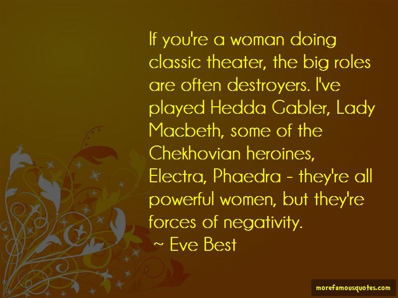 Hedda Quotes