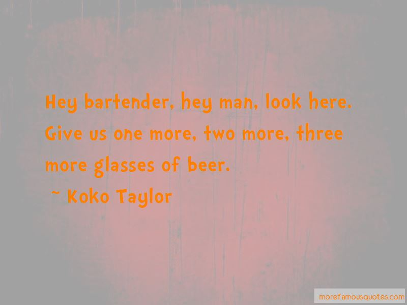 Hey Bartender Quotes