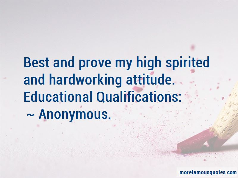 High Spirited Quotes