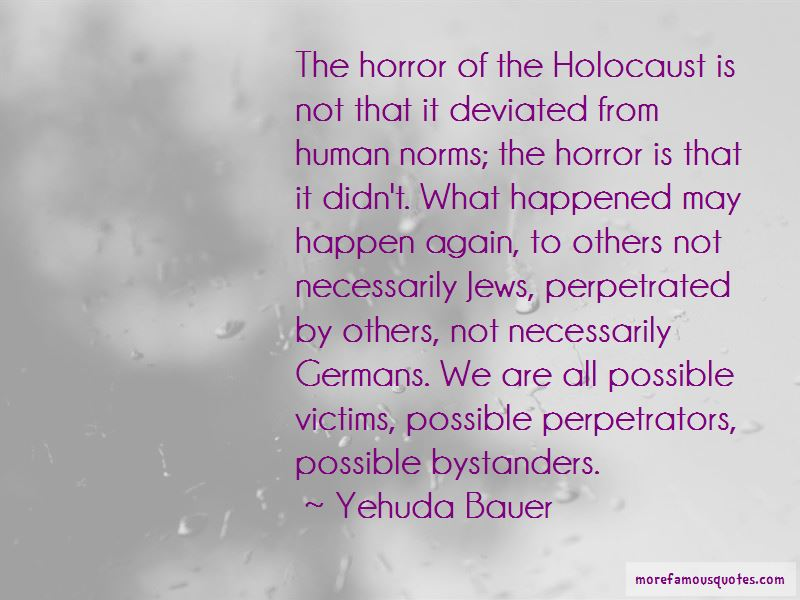 Holocaust Bystanders Quotes
