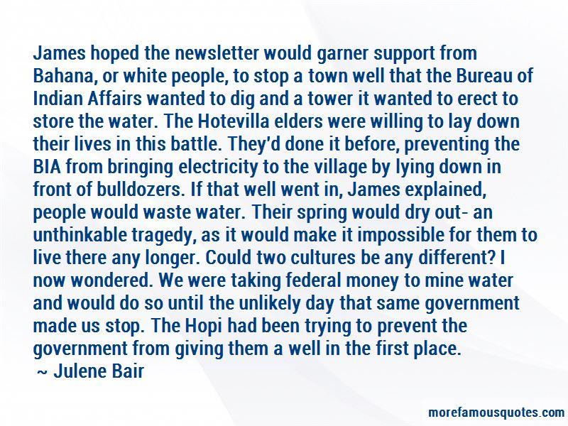 Hopi Elders Quotes