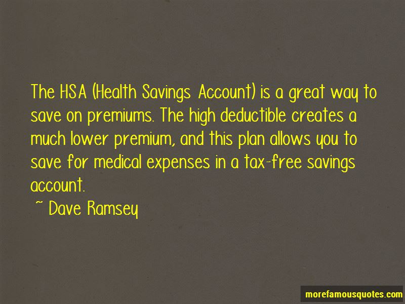 Hsa Health Plan Quotes