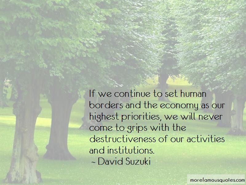 Human Destructiveness Quotes Pictures 3
