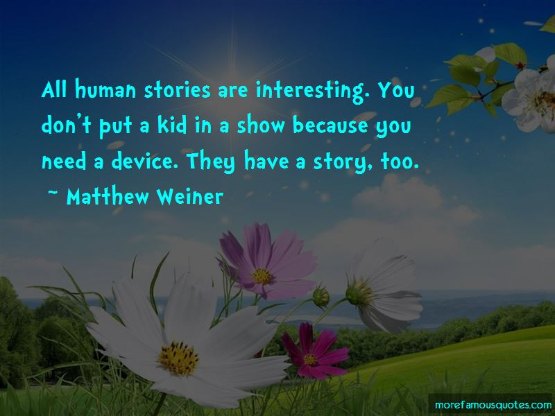 Human Stories Quotes Pictures 3