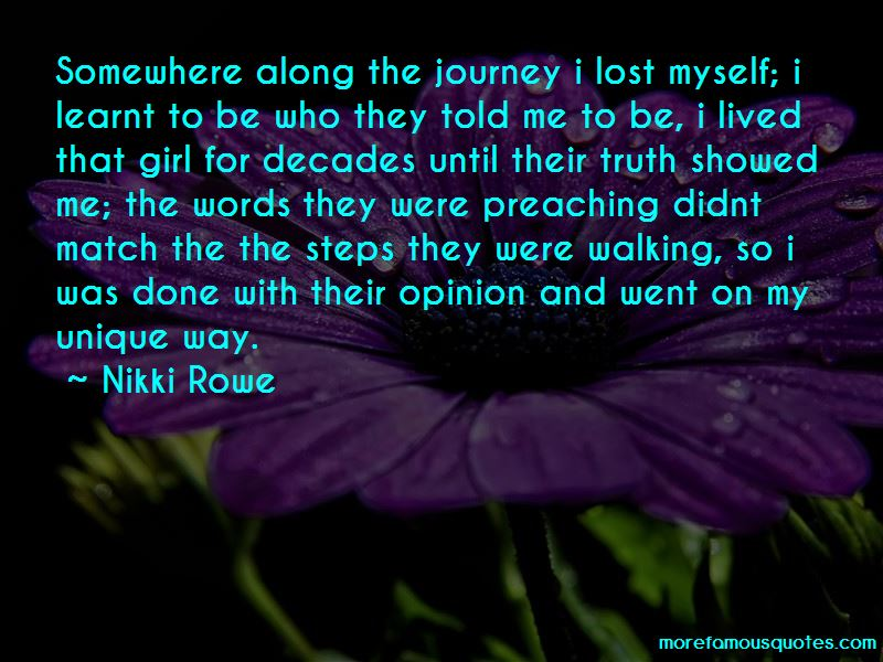 I Lost Myself Along The Way Quotes Pictures 3