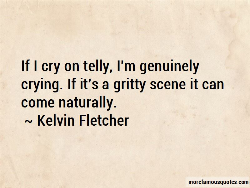 If I Cry Quotes