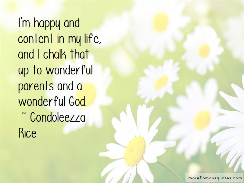 I'm Happy And Content Quotes