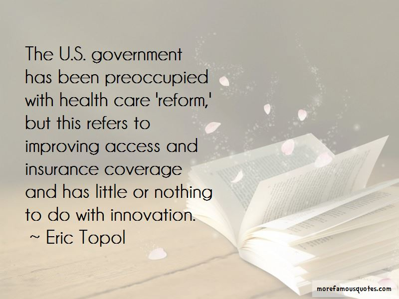 Improving Health Care Quotes