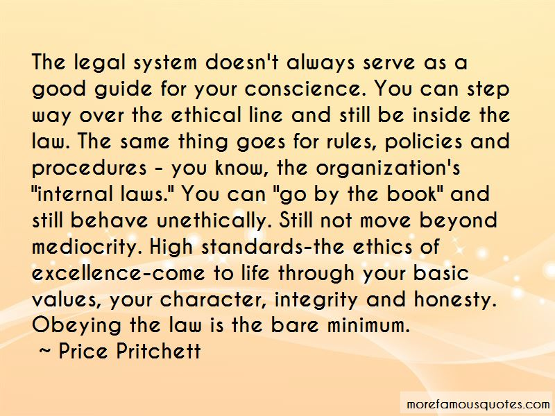 Integrity Honesty And Ethics Quotes