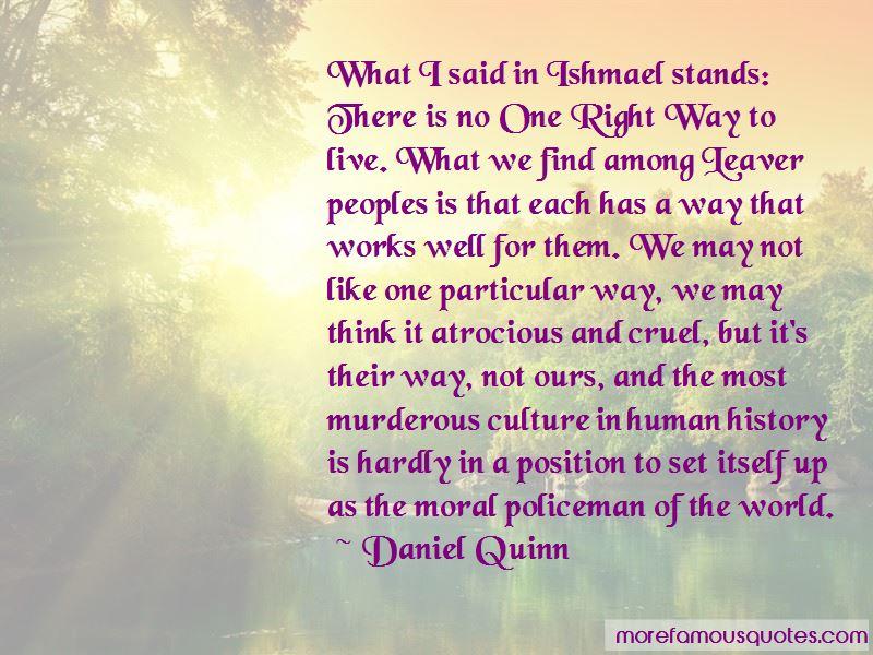 Ishmael Leaver Quotes