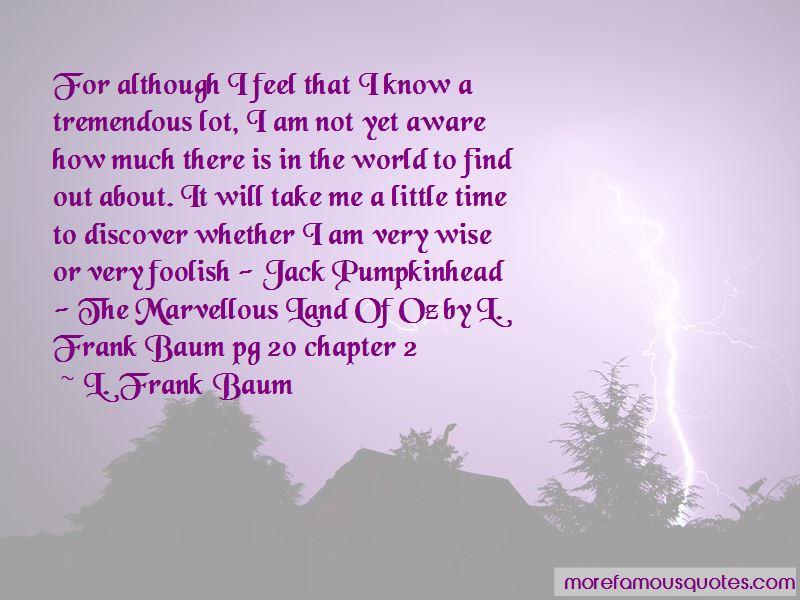 Jack Pumpkinhead Quotes