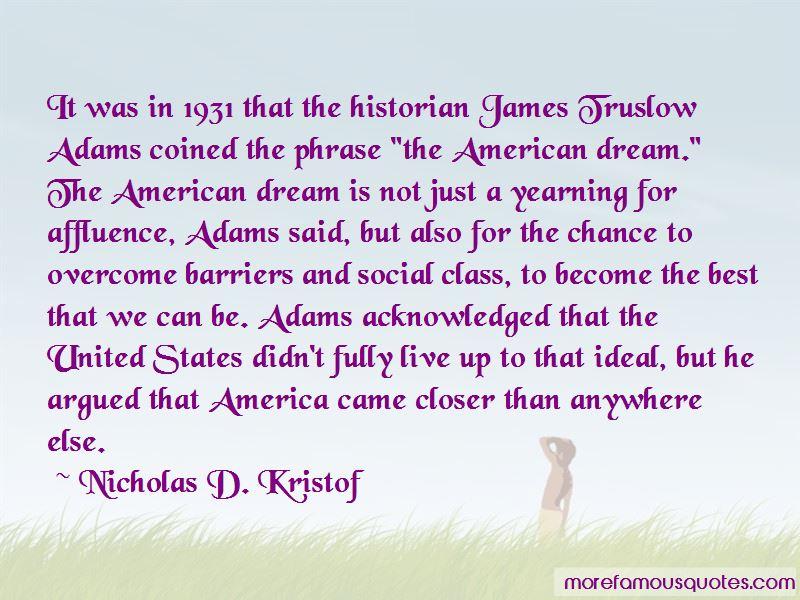 James Truslow Quotes