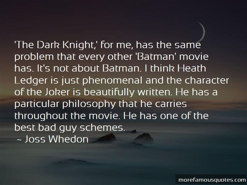 Joker Vs Batman Quotes