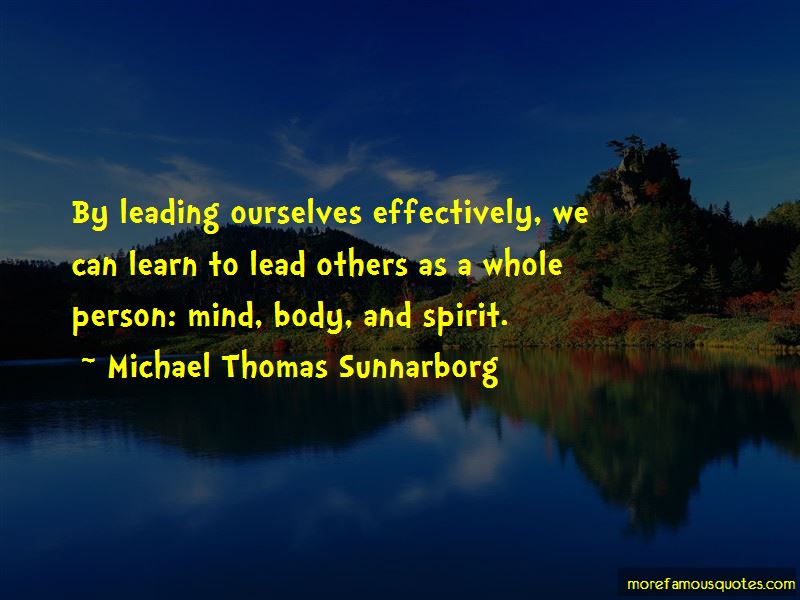 Leading Effectively Quotes