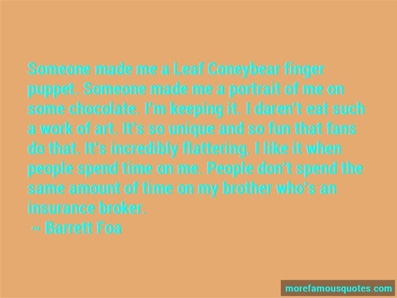 Leaf Coneybear Quotes