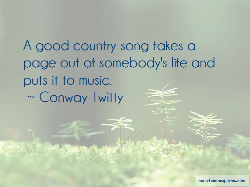 Life Country Song Quotes
