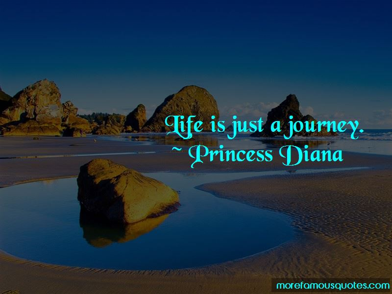 Life Is Just A Journey Quotes