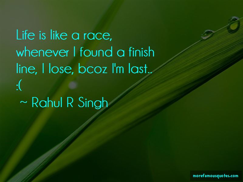 Life Is Like A Race Quotes Pictures 2