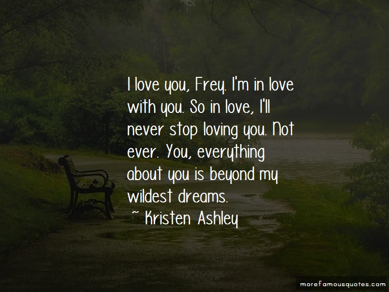 Love Is Beyond Everything Quotes