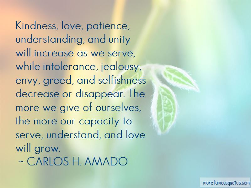 Love Patience Understanding Quotes Top 23 Quotes About Love