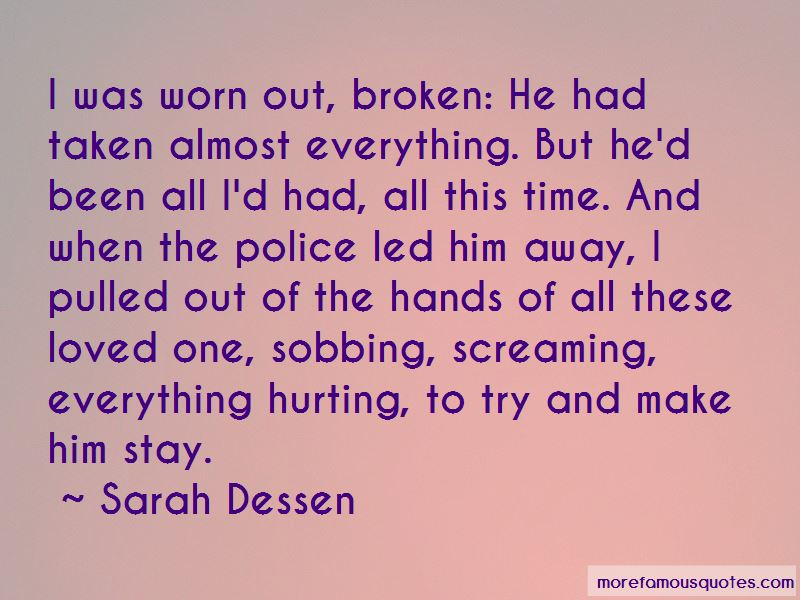 Loved One Hurting Quotes Pictures 4