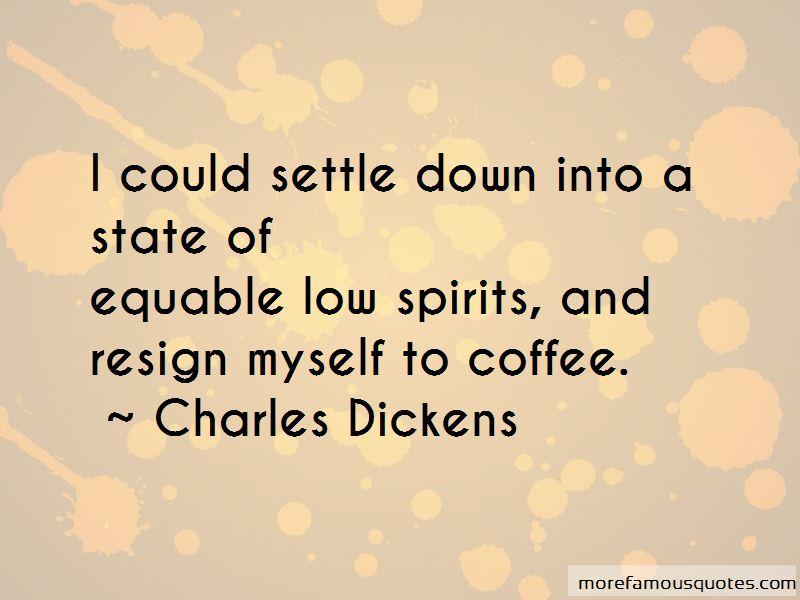 Low Spirits Quotes